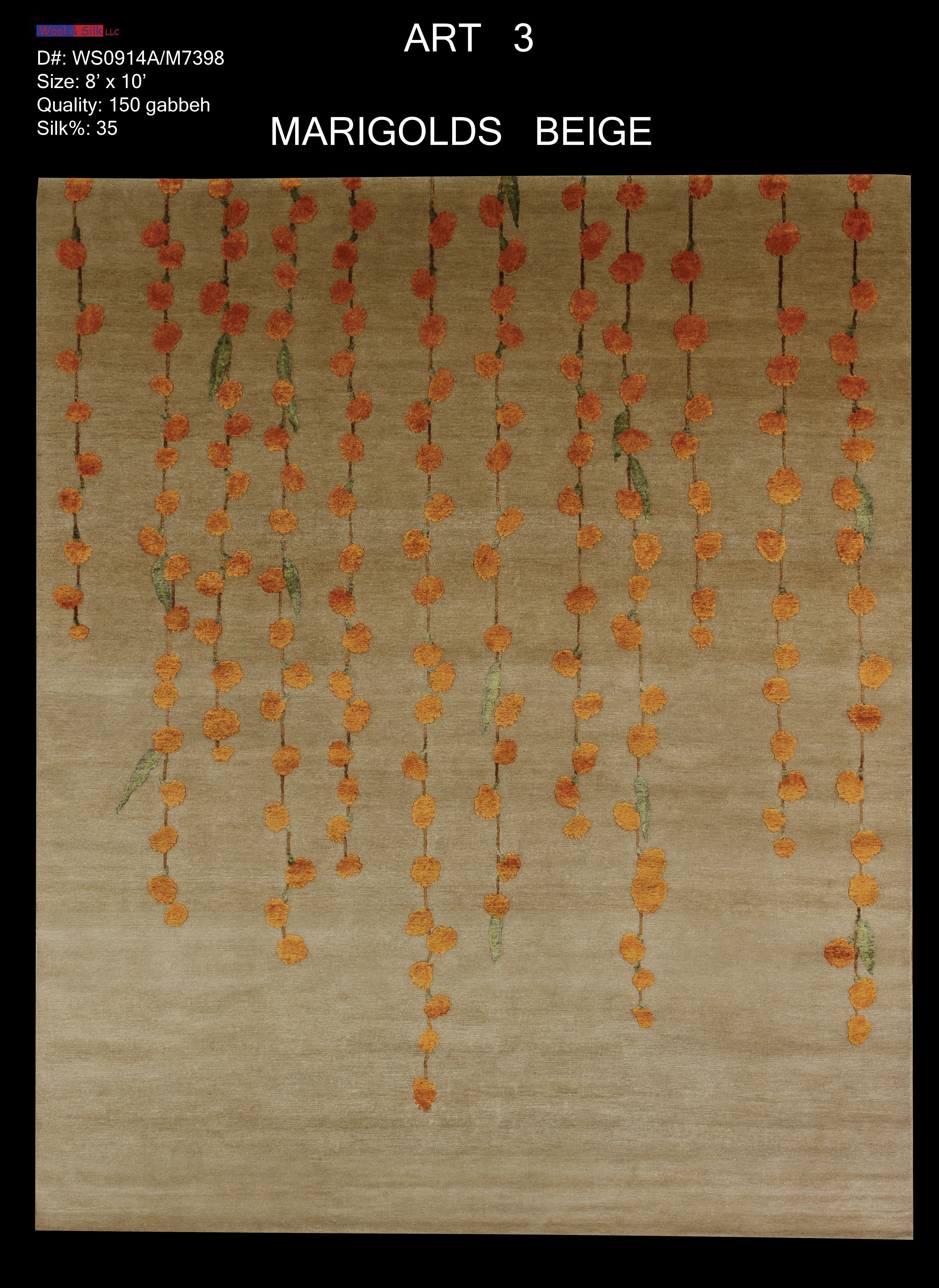 Marigold-Beige(WS0914A-M7398) 8'x10'