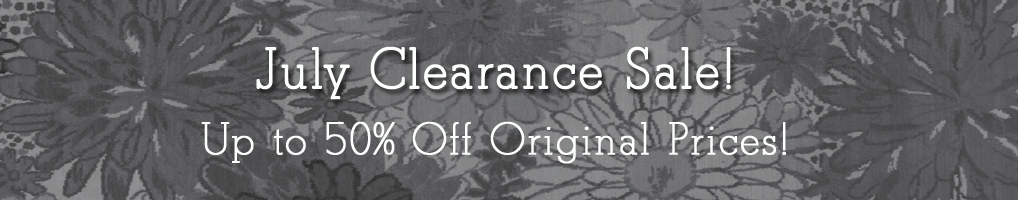 July Clearance Sale