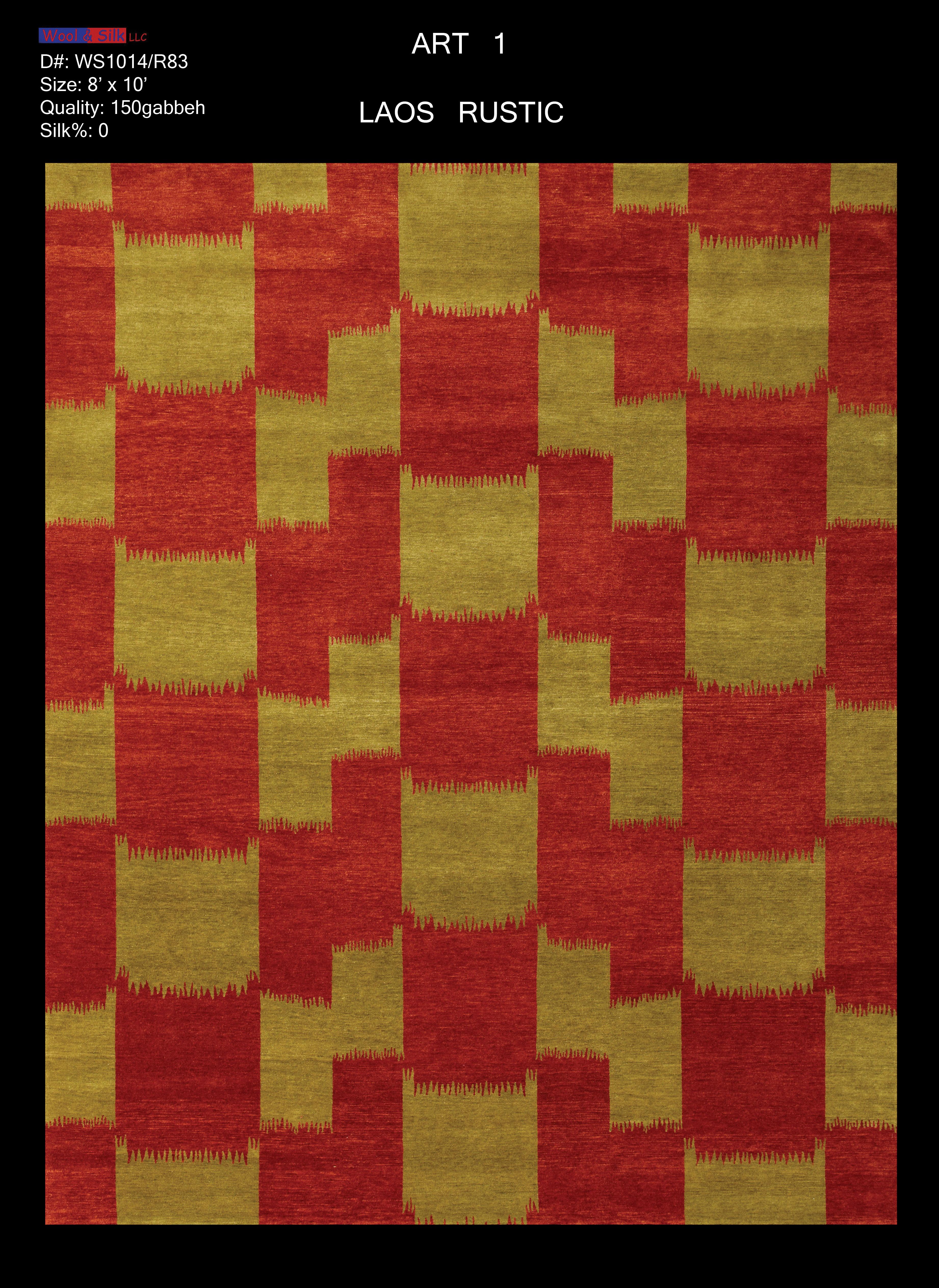 Laos-Rustic(WS1014-R83)_8'x10'_Abrash