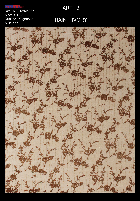 Rain-Ivory(EM0912-M6987) 9'x12'